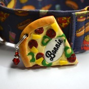 Pizza Dog Tag, Pet Tag, I.D. Tag