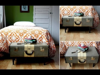 21 DIY Things to Make With Old Suitcases