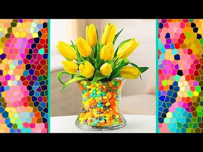 40+ ideas VASES with SPRING FILLERS diy Great for Easter party, Baby Shower or Spring Wedding