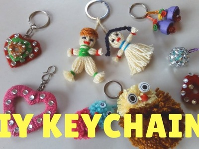 5 Awesome Ways To Make DIY Keychains!