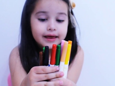APRENDENDO E PINTANDO CORES| LEARN COLORS PLAYING, Colors Kids Educational