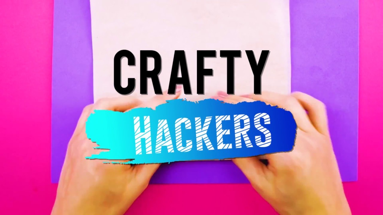 Crafty Hackers! The Best DIY Crafts and Hacks for Clothing, Food, School and more!