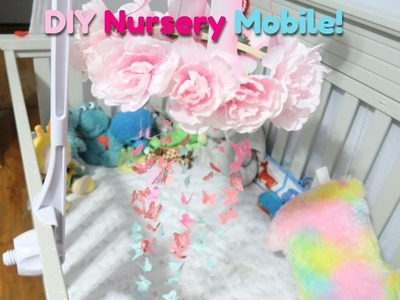 DIY Baby Nursery Mobile | Easy & Affordable | Jasmine Paulino
