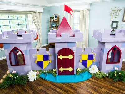 DIY Cardboard Castle - Home & Family