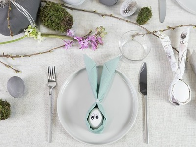 DIY : Easter decorations for the table by Søstrene Grene