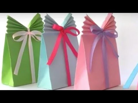 Diy Gift Packing Ideas Paper Bag Gift Wrapping Creative Gift