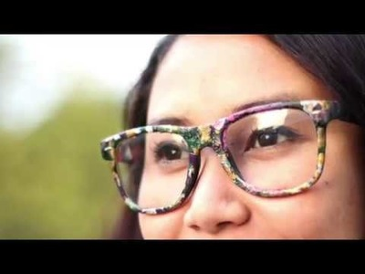 DIY - How to make your glasses Holi-ready