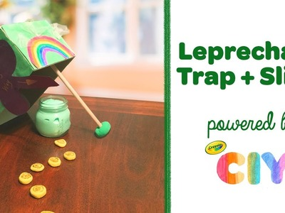 DIY Leprechaun Trap + Slime || Crayola CIY: Create It Yourself