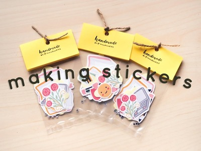 DIY   Making Stickers - Tips, Thoughts & MINI GIVEAWAY!