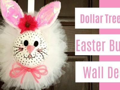 Dollar Tree DIY - Easter bunny wall decor