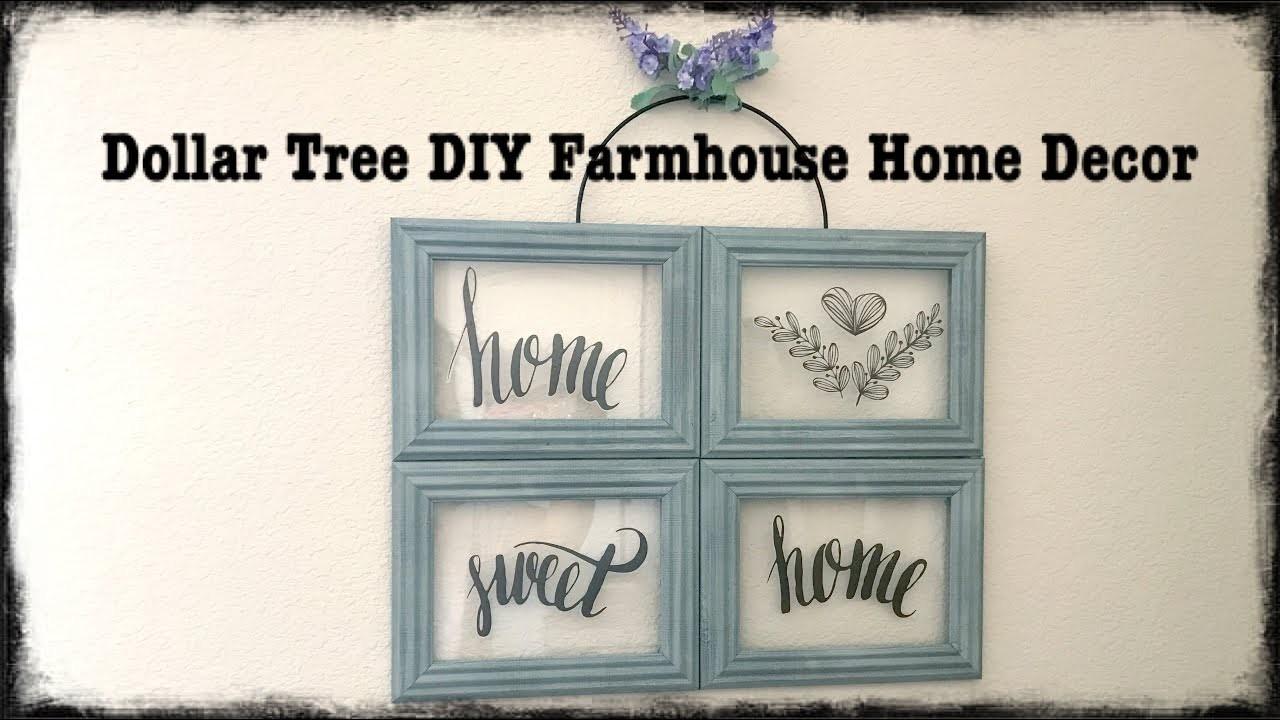 Dollar Tree DIY Spring Home Decor Farmhouse Style Easy $5