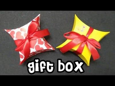 Gift box.how to make gift box easily. DIY. (mrin art)