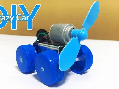 How to Make A Crazy Car Toy for Kids - DIY Simple at Home