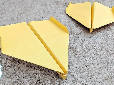 How to Make a Paper Airplanes that fly far