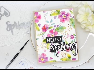 Making your own Pattern Paper with Neat & Tangled: March 2018 Release