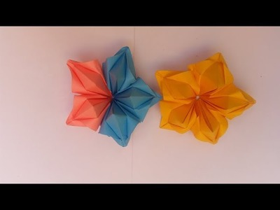 Flower Origami Puffy Heart Instructions 3d Paper Heart S A Easy