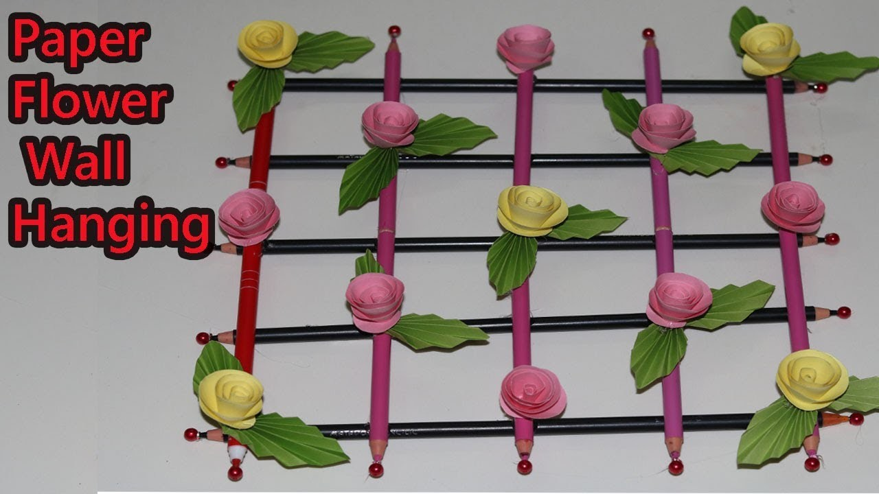Attractive How To Make Hanging Paper Flowers Image Collection Best