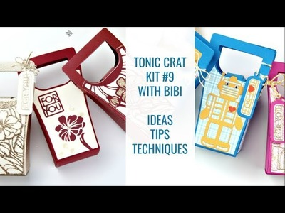 Tonic Craft Kit #9 Inspiration - Paper Piecing Ideas and more with Bibi Cameron