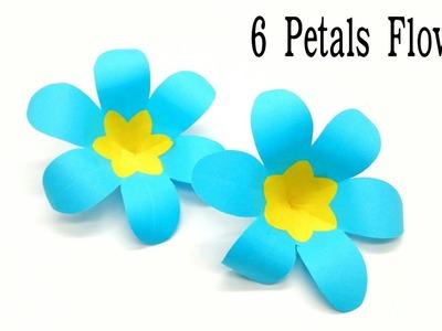 6 Petals Spring Flower - DIY | Tutorial - 1
