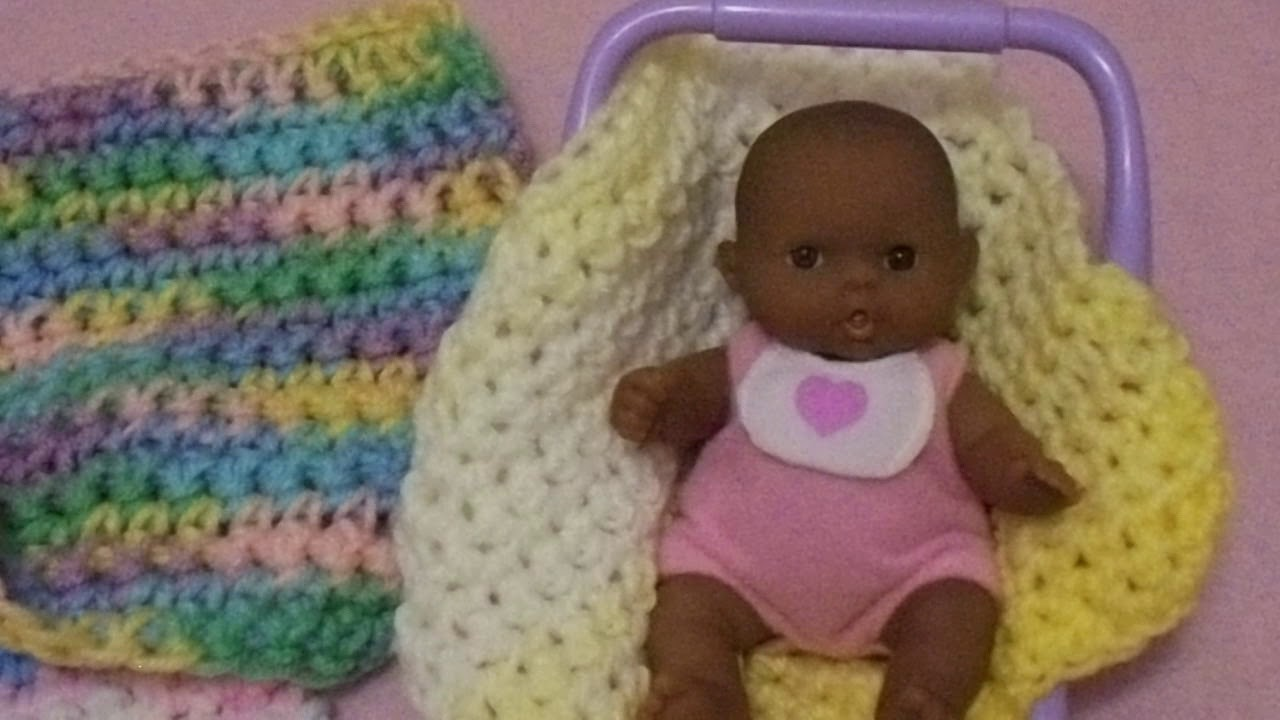 Crochet mini blankets for 5 lots to love baby dolls my for 5 inch baby dolls for crafts