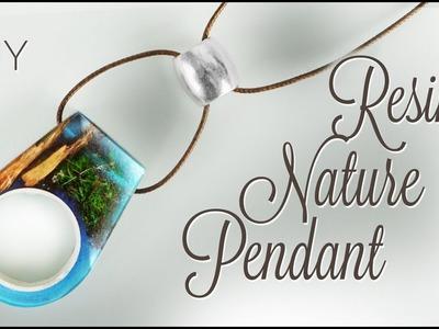 DIY 2 in 1 Resin Nature Pendant & Ring