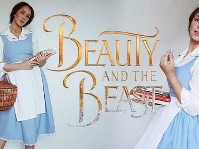 DIY  Belle Blue dress from Beauty and the Beast Disney Costume + Bloopers | Tijana Arsenijevic