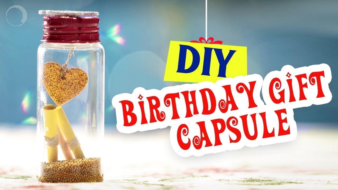 DIY Customized Birthday Gift Tutorial