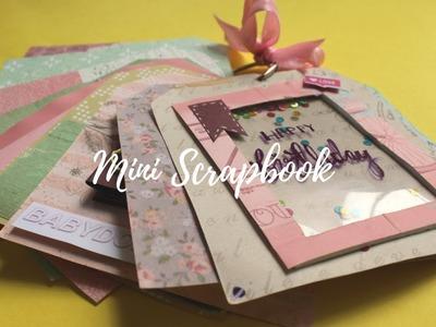 DIY: Cutest Mini Birthday Scrapbook   Card Idea   Easy Card Idea   Handmade Card