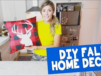 DIY FALL HOME DECOR. Grace Helbig