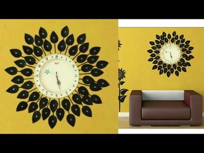 DIY Floral Designer Wall Clock.Diy wall clock.Wall Decor & Art.Room Decor.art my passion 18
