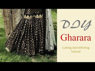 DIY Gharara Cutting And Stitching  Full Tutorial
