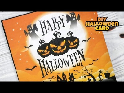 DIY Halloween Cards Spooky And Ghostly Card Tutorial 31