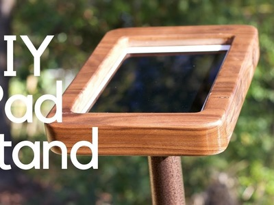 DIY.How To Make an iPad Stand