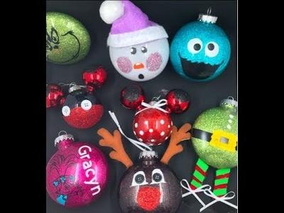 DIY How to make Christmas ???? ornaments