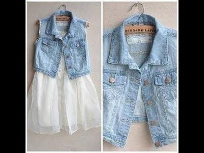 DIY : How To Make Jacket | Coat | Reuse Old Denims | VIEWER'S CHOICE