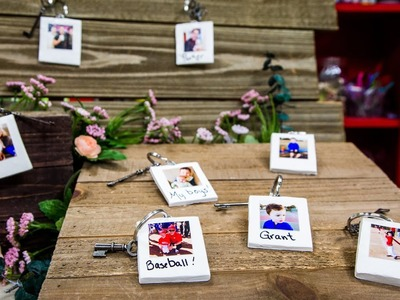 DIY Instant Photo Keychains - Home & Family