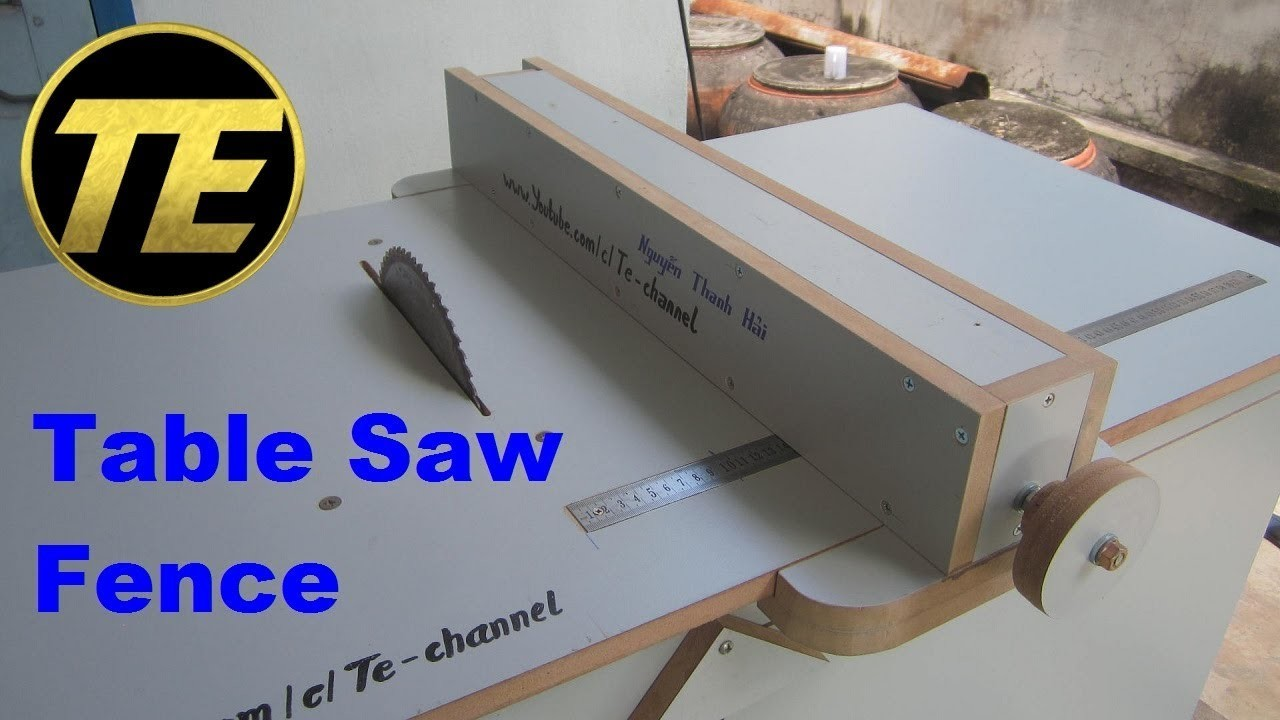Excellent Diy Make A Table Saw Fence For Homemade Table Saw Interior Design Ideas Inesswwsoteloinfo