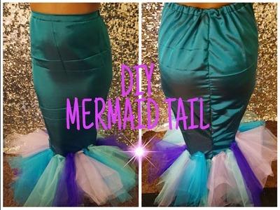 DIY Mermaid Tail || Easy Costume Idea || How to tutorial