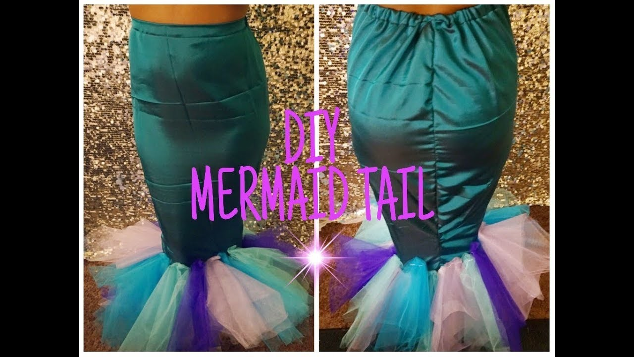 DIY Mermaid Tail || Easy Costume Idea || How to tutorial
