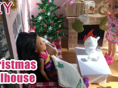 DIY Miniature Christmas Dollhouse | How to make Christmas Dollhouse with Scale 1:12