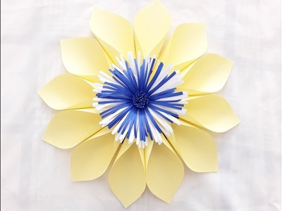 DIY Paper Flower Tutorial. October Flower Series #4