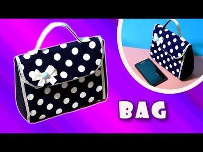 DIY.PURSE CUTE BAG.NO SEW TUTORIAL.Fashion.Hand made&craft.
