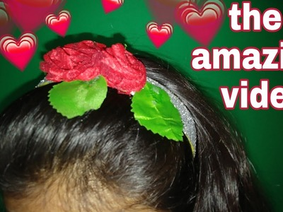 DIY Ribbon flower I Wedding hair comb I Kanzashi flower tutorial