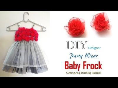 DIY Stylish Cute Baby Frock Cutting And Stitching Full Tutorial