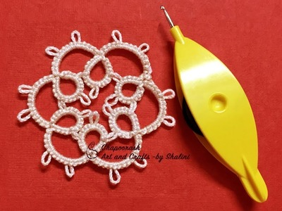#DIY #Tatting | #double thread #Flower & #Remedy for #cough #congestion in #winters| Episode - 8