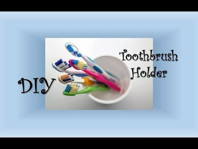 DIY || Toothbrush Holder with Bottle Caps || Bathroom Hacks || ItsCatchy
