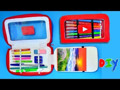 DIY TUTORIAL PENCIL CASE