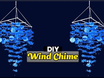 DIY Wind Chime - How to make wind chimes out of paper - room decorating ideas