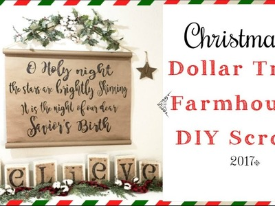 Dollar Tree Diy Christmas Decor | Easy DIY Farmhouse Decor | momma from scratch