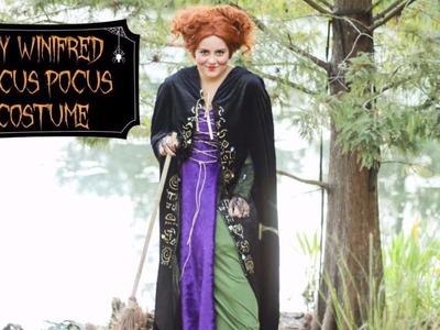 EASY DIY WINIFRED HOCUS POCUS COSTUME NO SEWING NEEDED | HALLOWEEN TUTORIAL